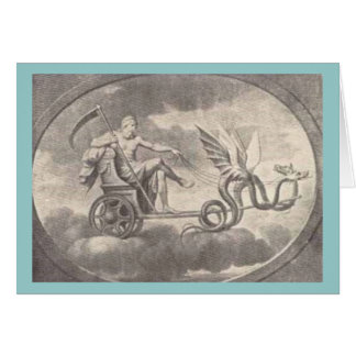 cronus greeting card