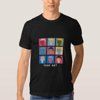"""CrousTshirt """"Poop black Art"""" Tee Shirt"""