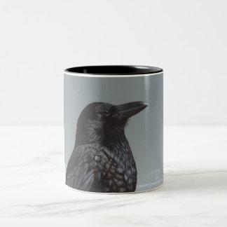 Crow Two-Tone Mug