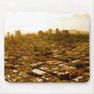 Crowded San Francisco Mouse Pad