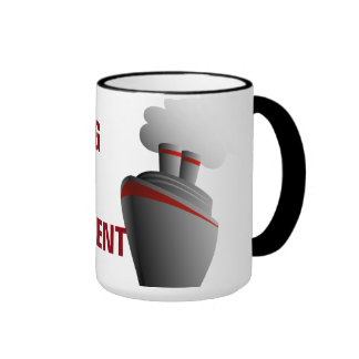 Cruising Through Retirement Ringer Mug