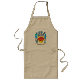 Cuckson Coat of Arms - Family Crest Long Apron