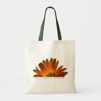 Cultivate Peace Tote Budget Tote Bag