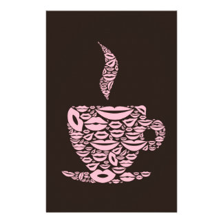 Cup a lip stationery