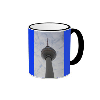 Cup of citizens of Berlin TV tower Ringer Mug