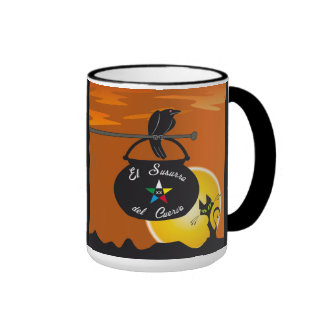 Cup whisper of the crow day. Crow to whisper mug