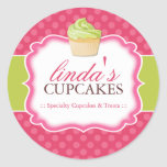 Cupcake and Dessert - Packaging Stickers