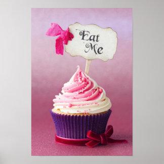 Cupcake - Eat Me Poster