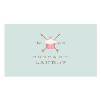 Cupcake Pastry Chef  Simple and Whimsical Pack Of Standard Business Cards