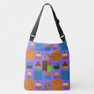Cupcakes Pattern Tote Bag
