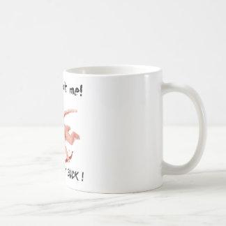 cupid shot me basic white mug