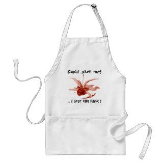 cupid shot me standard apron