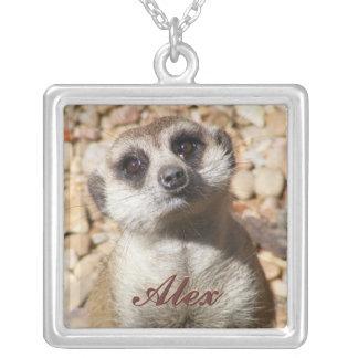 Curious Meerkat Necklace