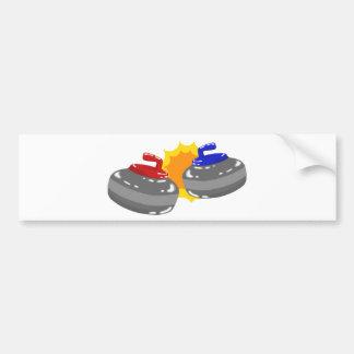 Curling Bumper Sticker