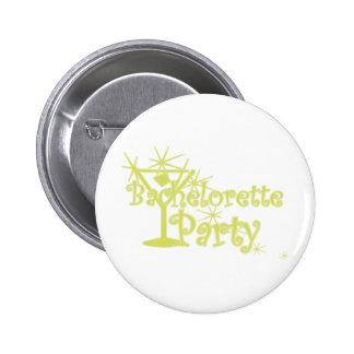 CurlMartiBachettePyellow 6 Cm Round Badge