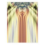 Curtain Call Spotlights Fractal Postcard