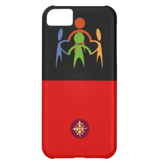 Custom cell phone covers with symbol of unity