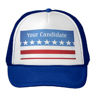 Custom Elections Your Political Candidate Cap