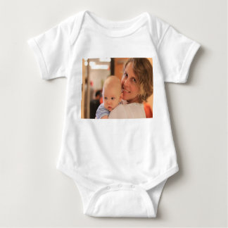 Custom Photo Baby Wear Tee Shirt