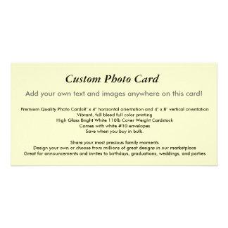 Custom Photo Card