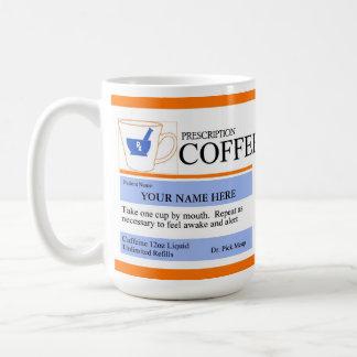 Custom Prescription Coffee Mug