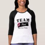 Custom Team Name - Breast Cancer T-shirts
