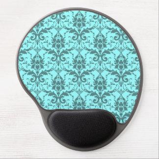 Customizable damask gel mouse pad
