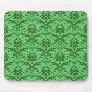 Customizable damask mouse pad