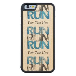 Customizable RUN x 3 Runners Maple iPhone 6 Bumper