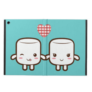 Customize ProductCute Marshmallow couple iPad Air Cases