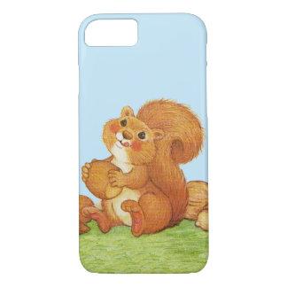 Cute Adorable Squirrel Acorns Nuts iPhone 7 Case