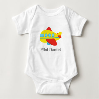 Cute and Colourful Passenger Aeroplane, Pilot Tshirts