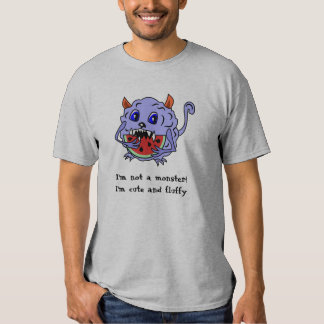 Cute and Fluffy Toothy Monster Shirt