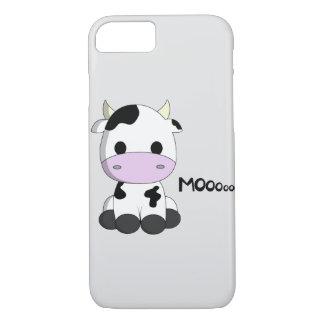 Cute baby cow cartoon iPhone 7 case