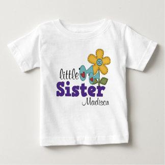 Cute Birds Daisy Flower Little Sister T-shirts