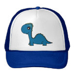 Cute Blue Baby Dinosaur Cap
