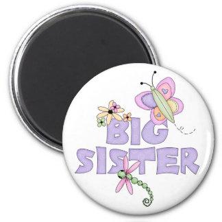 Cute Bugs Big Sister 6 Cm Round Magnet