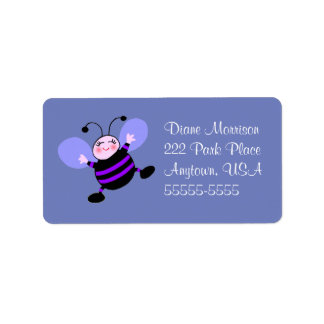 Cute Busy Bee Address Label