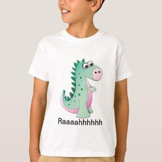 Cute Cartoon Dinosaur Tee Shirt