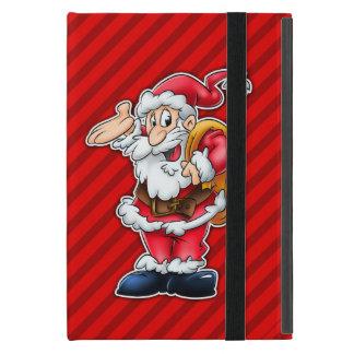 cute cartoon santa iPad case cover