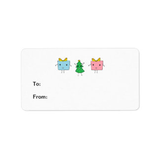 Cute Christmas Address Label