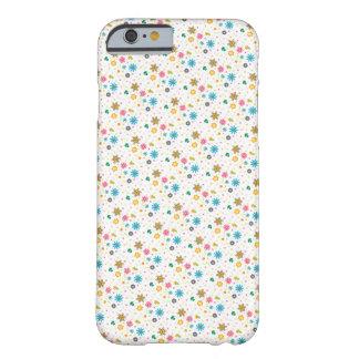 Cute Colourful Floral Pattern iPhone 6 Case / Skin