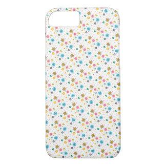 Cute Colourful Floral Pattern iPhone 7 Case / Skin