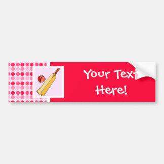 Cute Cricket Bumper Sticker
