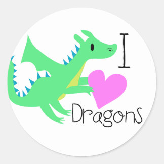 Cute Dragon Stickers