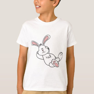 Cute Easter Bunny Chilling out T-shirts