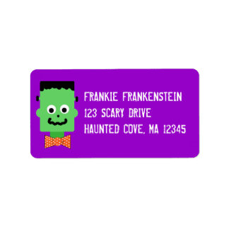 Cute Frankie Address Label