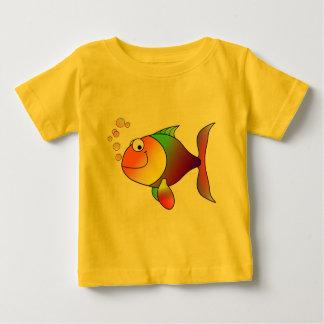 Cute Funny Fish - Colorful Shirt