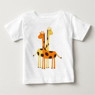 Cute Funny Giraffe Pair Tshirts