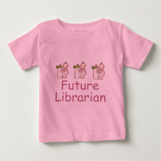 Cute Future Librarian Baby T-shirt